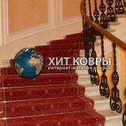 Укладка ковролина и ковровых дорожек на лестницу